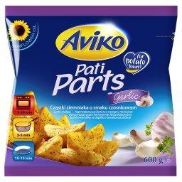 Pati Parts Garlic Cząstki ziemniaka o smaku czosnkowym