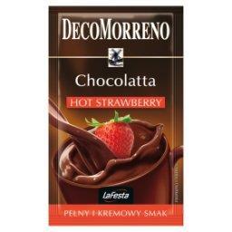La Festa Chocolatta Hot Strawberry Napój instant o smaku czekoladowo-truskawkowym