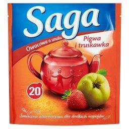 Herbatka owocowa o smaku pigwa i truskawka  (20 tore...