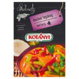 Sekrety Kuchni Tajskiej Red Curry Mieszanka przypraw