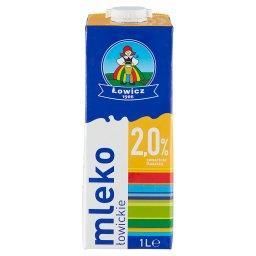 Mleko łowickie UHT 2,0% 1 l