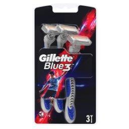 Blue3 Football Jednorazowe maszynki do golenia dla mężczyzn, 3 sztuk