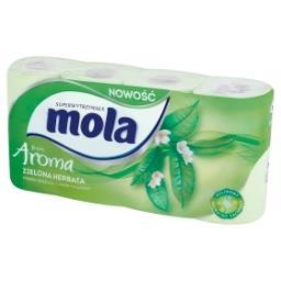 Fresh Aroma Papier toaletowy zielona herbata 8 rolek