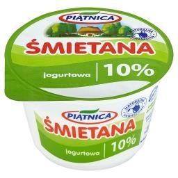 Śmietana jogurtowa 10%