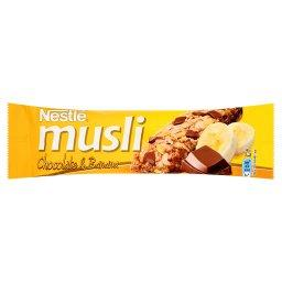 Musli Chocolate & Banana Batonik zbożowy