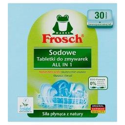 All in 1 Sodowe tabletki do zmywarek  (30 sztuk)