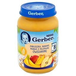 Jabłuszka banany mango z płatkami owsianymi po 8 mie...