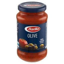 Olive Sos do makaronu pomidorowy z zielonymi i czarn...
