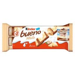 Bueno White Wafel w białej czekoladzie z mleczno-orzechowym nadzieniem 39 g