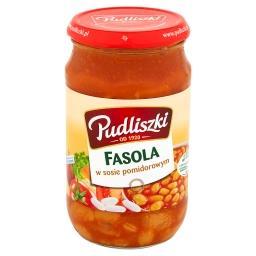 Fasola w sosie pomidorowym