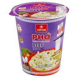 Wietnamska zupa Pho o smaku wołowiny
