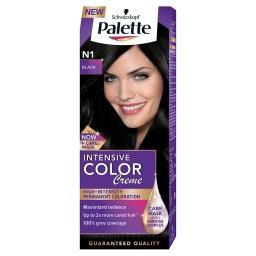 Intensive Color Creme Farba do włosów czerń N1 (1-0)