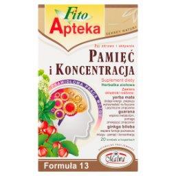 Suplement diety herbatka ziołowa pamięć i koncentrac...