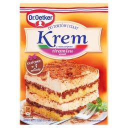 Krem do tortów i ciast z mascarpone smak tiramisu
