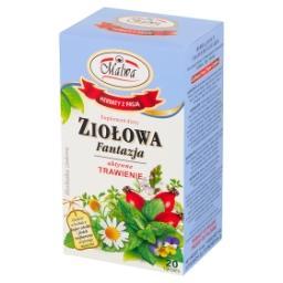 Ziołowa Fantazja Suplement diety herbatka ziołowa aktywne trawienie  (20 x 2 g)