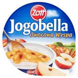 Jogobella Owocowa Wyspa pieczone jabłko Deser jogurtowy