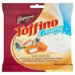 Toffino Creamy Toffi mleczne z kremem o smaku śmieta...