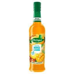 Smaki Słońca Syrop o smaku mango z ananasem