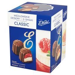 Wedlowskie desery 3 smaki Classic Pralinki z nadzieniem