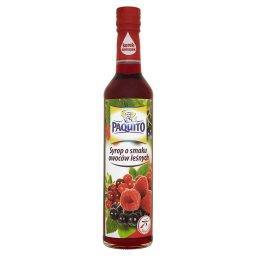 Syrop o smaku owoców leśnych