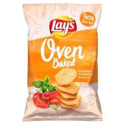 Oven Baked Pieczone formowane chipsy ziemniaczane o smaku suszonych w słońcu pomidorów