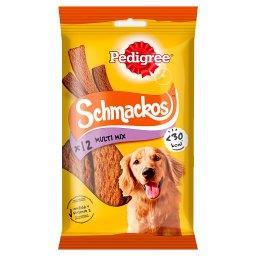Schmackos Multi Mix Karma uzupełniająca dla dorosłych psów  (12 sztuk)