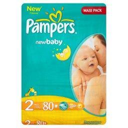 New Baby Pieluchy 2 Mini 80 sztuk
