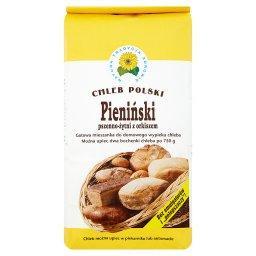Pieniński pszenno-żytni z orkiszem Gotowa mieszanka do domowego wypieku chleba 1 kg