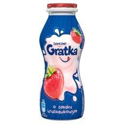 Gratka Napój mleczny o smaku truskawkowym