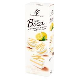 Beza z kremem o smaku cytrynowym