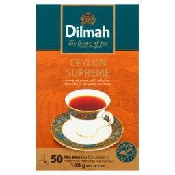 Ceylon Supreme Czarna herbata 100 g (50 torebek)