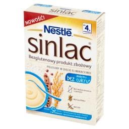 Sinlac Bezglutenowy produkt zbożowy bez dodatku cukru po 4. miesiącu