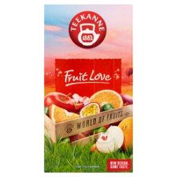 World of Fruits Fruit Love Mieszanka herbatek owocowych 45 g