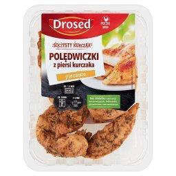 Polędwiczki z piersi kurczaka pieczone