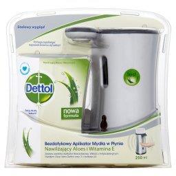 Bezdotykowy aplikator mydła w płynie z antybakteryjnym mydłem aloes i witamina E