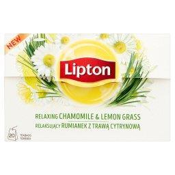 Relaksujący rumianek z trawą cytrynową Herbatka ziołowa  (20 torebek)