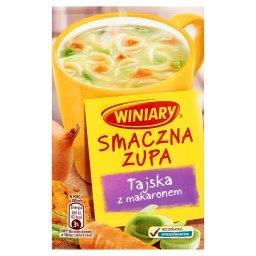 Smaczna Zupa Tajska z makaronem