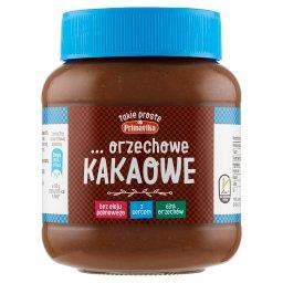 Pasta orzechowa kakaowa