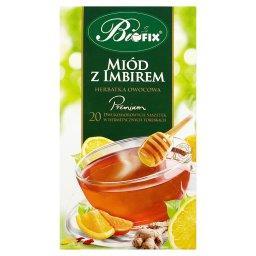 Premium miód z imbirem Herbatka owocowa 40 g (20 saszetek)