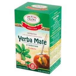 Exclusive Herbatka Yerba Mate z imbirem  (20 x 2 g)
