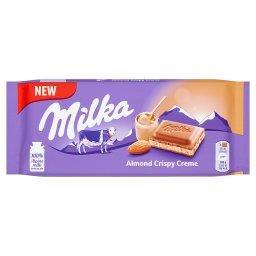 Czekolada mleczna Almond Crispy Creme