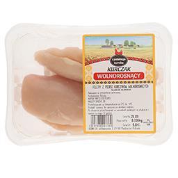 Filety z piersi kurczaków wolnorosnących świeże