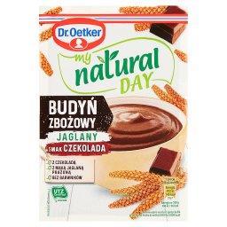 My natural day Budyń zbożowy jaglany smak czekolada