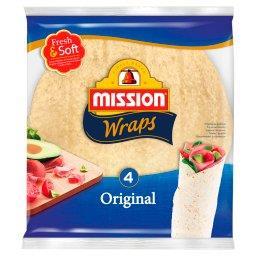 Wraps Original Tortilla z mąki pszennej  (4 sztuki)