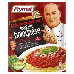 Fix Mój przepis na spaghetti bolognese