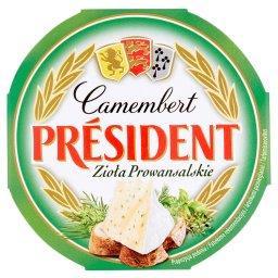 Camembert zioła prowansalskie Ser pełnotłusty
