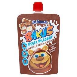 Bakuś Deser mleczny o smaku czekoladowo-orzechowym