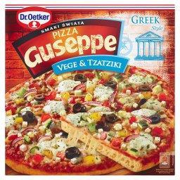 Guseppe Smaki Świata Pizza z warzywami i sosem tzatziki