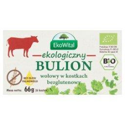 Ekologiczny bulion wołowy w kostkach  (6 sztuk)