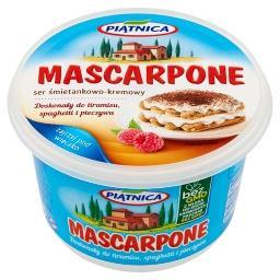 Mascarpone Ser śmietankowo-kremowy